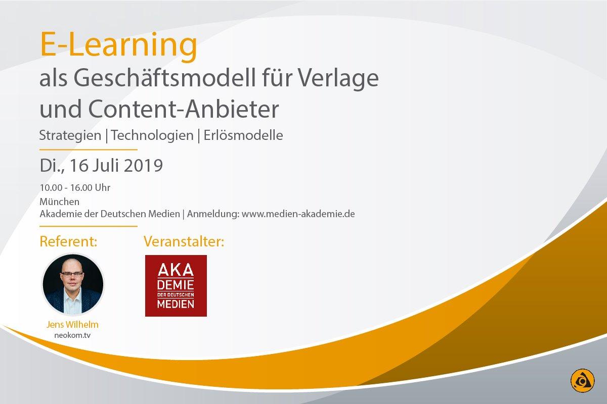 E-Lerning-Geschäftsmodelle